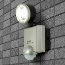 【アウトレット】ELPA 屋外用センサーライト AC電源 4wLED 1灯 ESL-401AC【同時購入注意】
