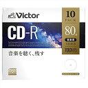三菱化学メディア 音楽用CD-R 700MB 80分 10枚 AR80FP10J1