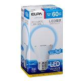 【わけあり】LED電球 A形 広配光 60W相当 E26口金 昼光色相当 LDA9D-G-G596/ELPA【同時購入注意】
