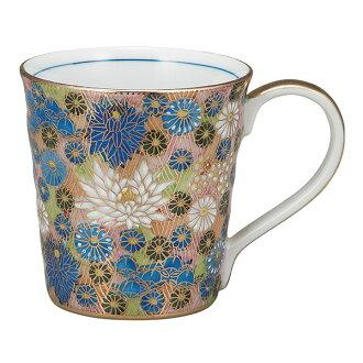 Kutani 陶瓷︰ 杯子金華筆芯 (杯子杯歲,陶器禮物設計 Mag 原始不倒翁日本儀器婚姻出生方位祝我的禮物金婚慶典返回呈現 2016年兩個父親母親男人女人)