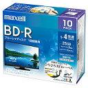 マクセル株式会社 録画用BD-R 1層25GB 1~4倍速記録対応 10枚入 BRV25WPE.10S