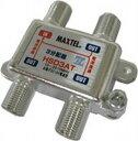 マックステル CS/BS/地デジ対応 3分配器(全端子電流通過型)HSD3AT-P