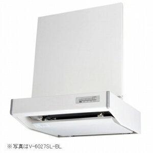 【受注生産品】 三菱 レンジフードファン フラットフード形 壁スイッチ型 BL規格排気型3型 接続パイプ:Ψ150mm V-6037SSW-BL 【人気のあります】