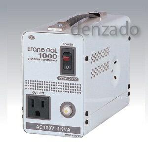 日動工業 海外用トランス 丸ピンC2 AC220V〜230V 1KVA PAL-1000EP