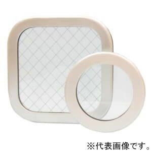 篠原電機 アルミ窓枠 AY型 角型タイプ IP55 金網入りガラス 電気工事 電球 エアコン AY-6040AT:電材堂