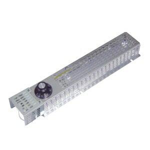 篠原電機 カバー付スペースヒーター コンパクトタイプ 200W 電源電圧220V 4点取付 SPCC製、ヒーターSUS430製 サーモスタット、電子カバー付 SHCK4-2220S-OH-TC 酸っぱい