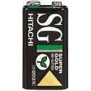 日立 マンガン乾電池 SGシリーズ 積層形 9V 1個入 6F22(SG)N