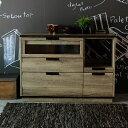 カウンター キッチンカウンター キッチン収納 古材風 ビンテージ コンセント付き 木製 幅120cm シンプル ナチュラル 脚付き 収納家具 …