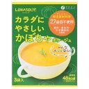 【送料無料】ファイン LOHASOUP(ロハスープ) カラダにやさしいかぼちゃポタージュ 42g(14g×3袋)×30箱【smtb-TD】【saitama】