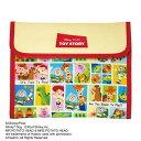 母子手帳ケース Disney ディズニー マルチケース ジャバラ (トイ・ストーリー) クリーム DJM-2404K