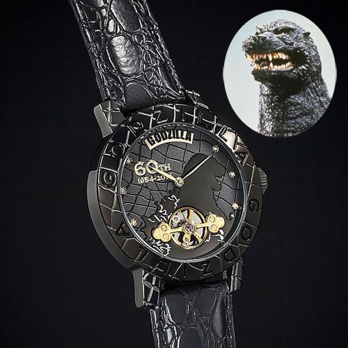【送料無料】ゴジラ生誕60周年記念 機械式腕時計【smtb-TD】【saitama】