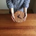 木の時計【小枝クロック(中)ウォールナット】 置き時計にも掛け時計にも  【送料無料】