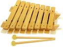 アウリス 木琴 シロフォン(ダイヤトニック 8音 木製 木のおもちゃ 音の出るおもちゃ) 児童館