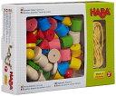 HABA ハバ カラービーズ・6シェイプ HA2155 2歳 3歳 4歳 おもちゃ ひも通し 女の子 子供 木のおもちゃ 木製 男の子 知育玩具 紐通し 誕生日プレゼント ギフト ビーズ | 幼児 出産祝い キッズ 積木 子ども 紐とおし ビーズ通し