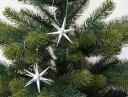 【銀の星(小)】 ERZ  クリスマスツリー オーナメント【ベツレヘムの星】