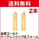 金華ゴールド ナノクレンジング&フォーム 210ml N 2本組 通販 KINKA 箔一 送料無料