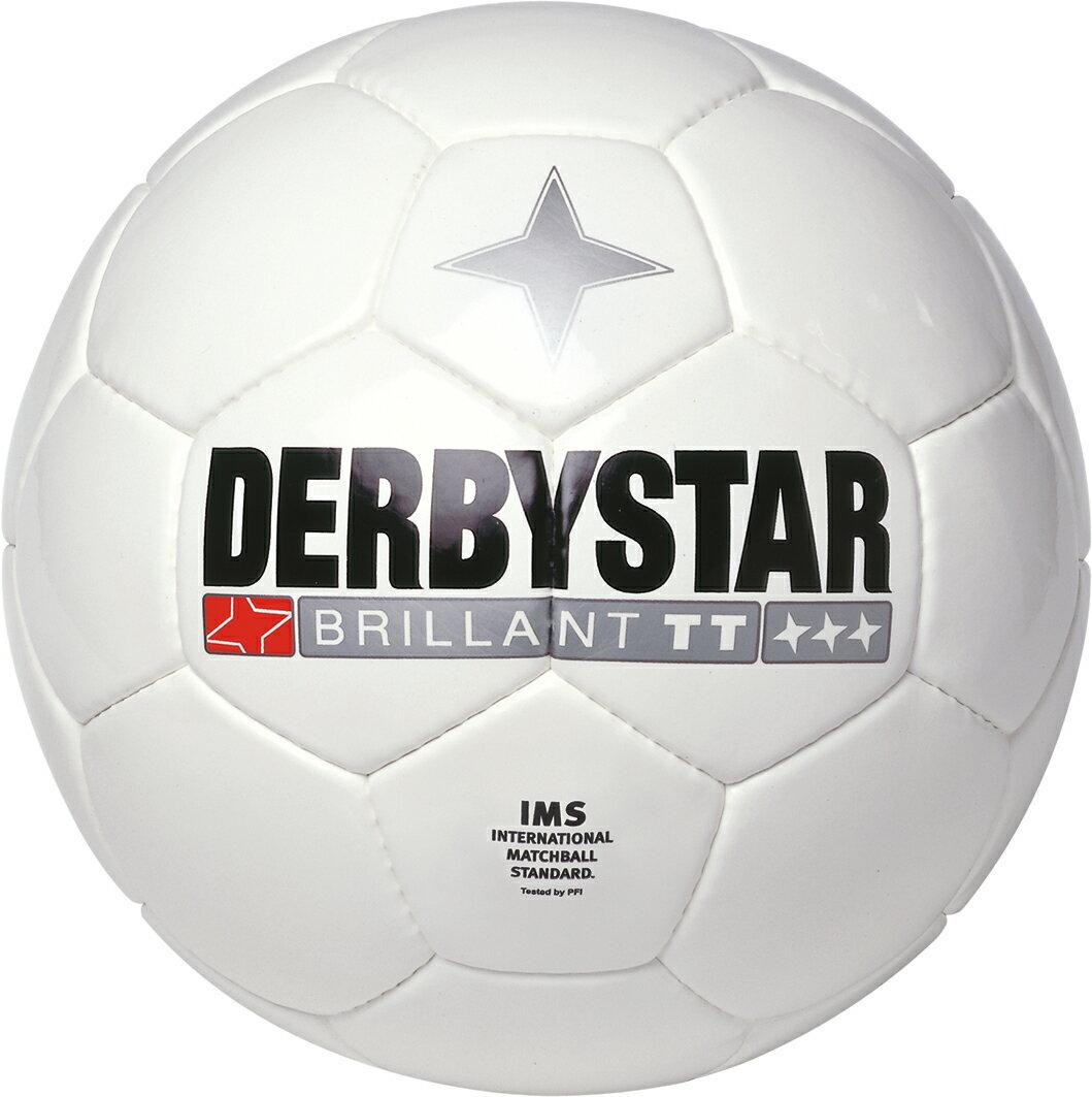 ダービースター4号サッカーボールBrillantTTWhite4号球ジュニアサッカー用トレーニング用