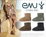 【即日发送】【评论宣传活动】正规品2011年新模型! EMU 鸸鹋STINGER MINI Stinger 迷你BRONTE(buronti自 )上面的���型?UGG(agu)羊毛靴[【即日発送】【レビューキャンペーン】正規品2011年新モデル! EMU エミュ