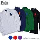 メール便送料無料ラルフローレン POLO RALPH LAUREN KIDS ビッグポニー ロングスリーブポロシャツ BIG PONY POLO