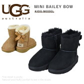 【】UGG(アグ)トドラー MINI BAILEY BOW (トドラー ミニ ベイリーボウ)