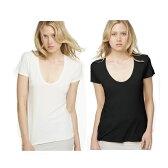 ジェームスパース tシャツ uネック レディース 半袖 白 メール便 送料無料JAMES PERSE S/S RELAXED CASUAL WMJ3449