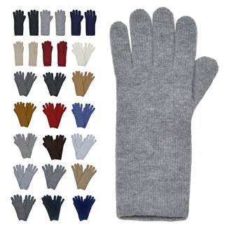 埃爾金 Johnstons Johnstons 羊絨手套手套女士手套與短袖口羊絨手套奢侈品牌 [HAD3226]