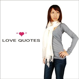 LOVE QUOTES 러브 쿼츠 WRAP 스톨(스카프) love aquotes love quotes 스톨 tolani 스톨 호랑이 니스 사용료 스톨 matta 맛타스토르 대형 스톨