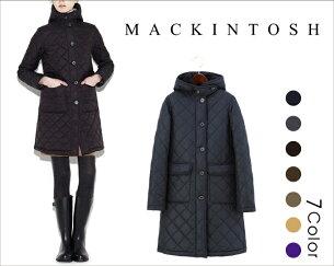 MACKINTOSH マッキントッシュ グランジ インサイド フードキルティングコート レディース ジャケット