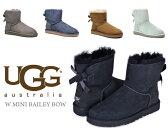 【エントリーでポイント最大4倍】 【正規品】UGG(アグ)MINI BAILEY BOW (ミニ ベイリー ボウ ムートンブーツ)シープスキン ブーツ 送料無料・送料込み