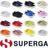 スペルガ SUPERGA 2750 キャンバス スニーカー レディース ホワイト 2750 スニーカー インヒール 女性用 ローカット パンプス