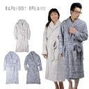 ベアフットドリームス バスローブ BAREFOOT DREAMS COZYCHIC HEATHERED ADULT ROBE #609 【西...