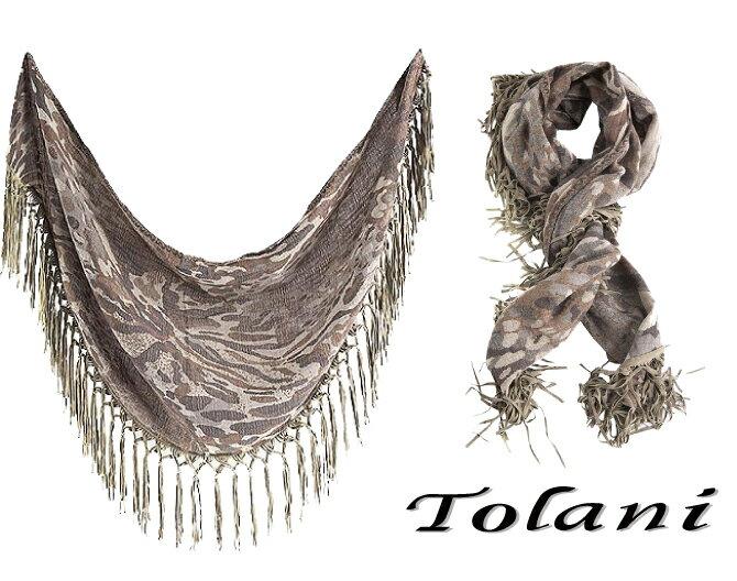 Tolani トラニ CAPE SCARF S...の紹介画像3
