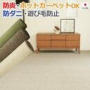 カーペット 6畳 日本製カーペット 国産カーペット 防炎カーペット 防ダニカーペット 絨毯6畳 じゅうたん 6畳
