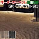 オーダーカーペット 東リ カーペット 絨毯 じゅうたん ラグ マット ディフェンダーII 約200×400cm 抗菌 防汚 防炎 立体感 デザイン ナイロン 業務用 半額以下 お買い物マラソン