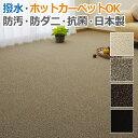 ガード (N) 【撥水・防水・防汚カーペット】 日本製 4.5畳,4畳半,4.5帖約261×261cm ホットカーペット対応