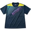 バタフライ(Butterfly) 男女兼用Tシャツ グラデイト・Tシャツ 45090 ネイビー SS[代引不可]
