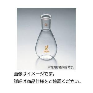 (まとめ)共通摺合ナス型(茄子型)平底フラスコ 100ml 19/38 【×3セット】[代引不可]
