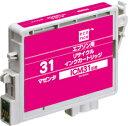 ecorica エコリカ リサイクルインクカートリッジ EPSONエプソン互換製品 エコリカ型番【ECI-E31M】 対応純正品【ICM31】カラー【マゼンタ】