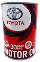 TOYOTA トヨタ エンジンオイル SN / CF 5W-30 1L 缶 08880-10706 | トヨタ純正 toyota純正 5W30 1L缶 1リットル CASTLE キャッスル 車 ..