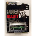 "GREENLIGHT 1:64 STEVE McQUEEN ""BULLITT"" 1968 FORD MUSTANG GT グリーンライト 1:64 スティーブ・マックイーン 「ブリット」 「1968 フォードマスタング」"