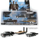 GREENLIGHT 1/64 HITCH & TOW - HOLLYWOOD SERIES SUPERNATURAL - 2015 CHEVROLET SIL...