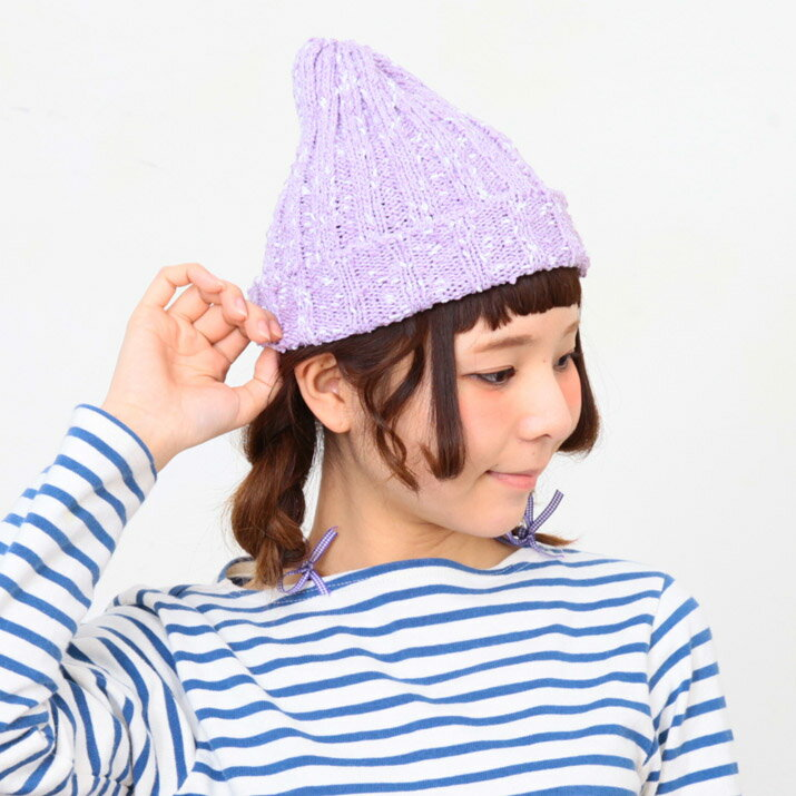 【2個1000円引き対象】┣┫メール便/ニット帽...の商品画像