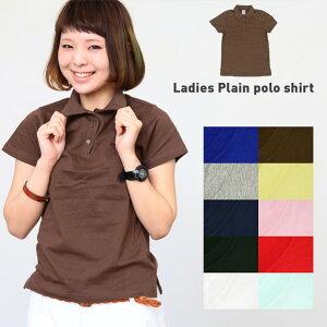 ポロシャツ レディース シンプル トップス Tシャツ
