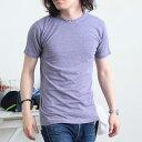 ┣/┫メール便/Tシャツ シンプル 無地 インナー メンズ コラボTシャツ