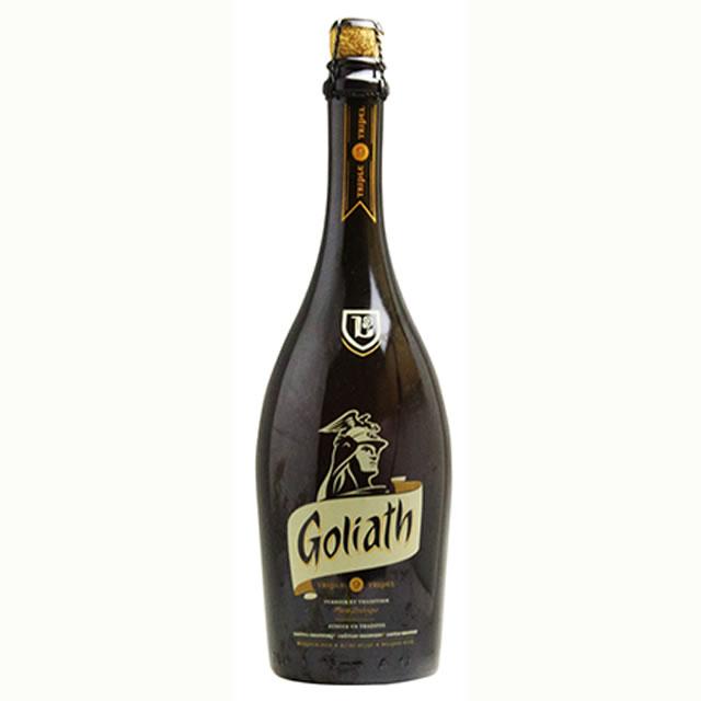 【送料無料】ゴリアト・トリプル レジェンド 750ml(ベルギービール 6本セット)【納期:3日〜約2週間後に発送】
