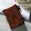 【ゆうパケット対応】Control 二つ折り財布 メンズ財布...