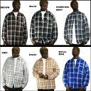 【あす楽】【2枚で送料無料】CalTop チェック柄 L/Sシャツ [カルトップ] S〜5XL【Made in USA】【全8色】チェックシャツ キャルトップ シャツ カルトップ 長袖 チェックシャツ メキシカン チカーノ ギャング ローライダー メンズ 大きいサイズ シャツ LL 2L 3L 4L 5L