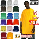 PRO CLUB (プロクラブ) 【全17色】【M〜XL】[2XL〜7XLもございます]HEAVY WEIGHT(ヘビーウェイト) PROCLUB 無地/プレーン 半袖Tシャツ(S/S TEE)小さいサイズ大きいサイズスノボー ウェアスノーボード インナー 作業着M L LL 2L 3L 4L 5L