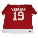 DETROIT RED WINGS (デトロイトレッドウィング) replica アイスホッケーシャツ #19【YZERMAN】アイスホッケー ゲームシャツ 大...