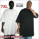 PRO CLUB (プロクラブ) 【全2色】6.5オンス【7XL】 M〜5XLもございます HEAVY WEIGHT(ヘビーウェイト)PROCLUB 無地/プレーン 半袖Tシャツ(S/S TEE)大きいサイズ 大きいサイズメンズ スノボー ウェアスノーボード インナー 作業着M 3L 4L 5L 7L 10L
